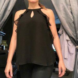 Lauren Conrad Runway black blouse